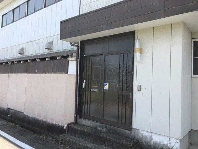 【玄関】錦町江栗3丁目 作業場・事務所