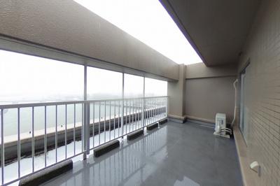 【バルコニー】サーパスシティ高知Ⅱ