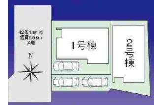 【区画図】ファーストタウン枚方市第2西禁野
