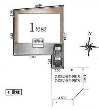 【区画図】清瀬市梅園3丁目 全1棟