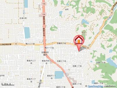 【地図】メゾン・ラ・ジェルメ