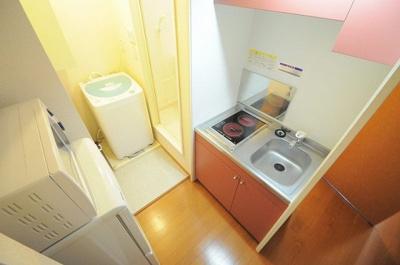 【キッチン】レオパレス鴫野 夢