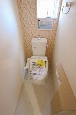 ゆったりとした空間のトイレです:建物完成しました♪♪毎週末オープンハウス開催♪三郷新築ナビで検索♪