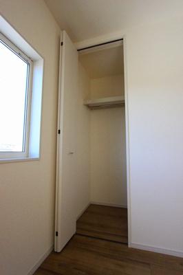 十分な収納スペースがあります