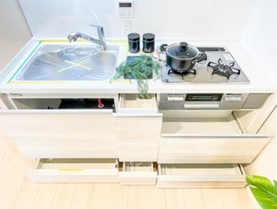 マンションVIP新宿柏木のキッチンです。