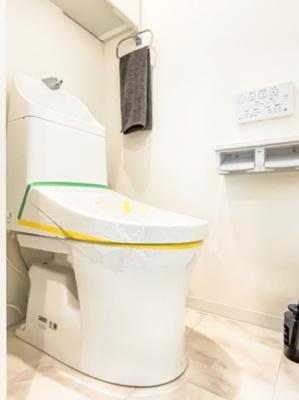 マンションVIP新宿柏木のトイレです。