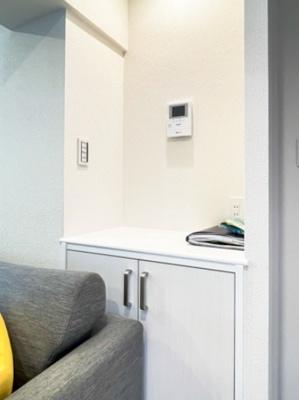 マンションVIP新宿柏木のモニター付きインターフォンです。