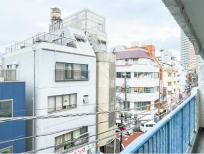 マンションVIP新宿柏木の眺望です。