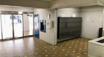 マンションVIP新宿柏木のメールボックスです。