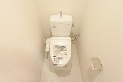 【トイレ】プレサンス谷町九丁目ディセオ