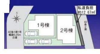 【区画図】ファーストタウン池田市第8緑丘