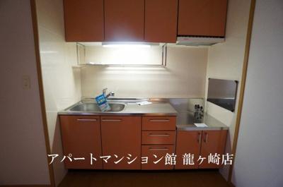 【キッチン】さくらヒルズⅢA