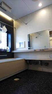 浴室、広いシステムバス