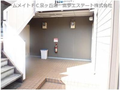 【エントランス】ロイヤルハイツ光明池A棟