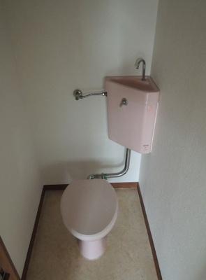 【トイレ】ハイツコスモ 仲介手数料無料