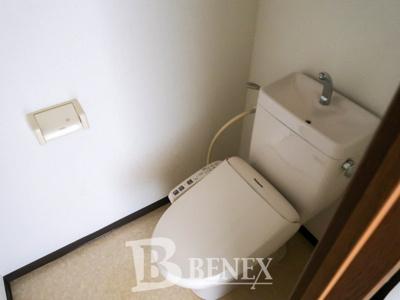 スリーベルマンションⅠのトイレです