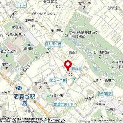 【地図】小石川フィエルテ