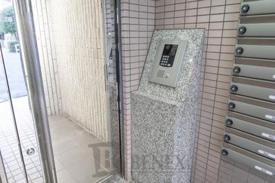 リーノ新宿若松町のセキュリティです