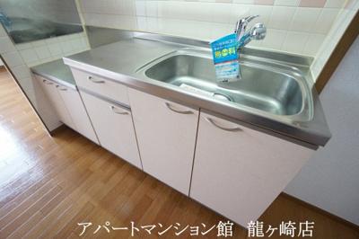 【キッチン】クリスタルカーサB