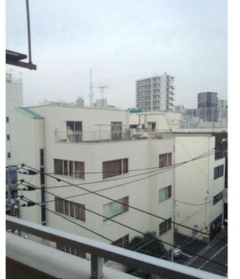 【バルコニー】浅草橋センチュリー21