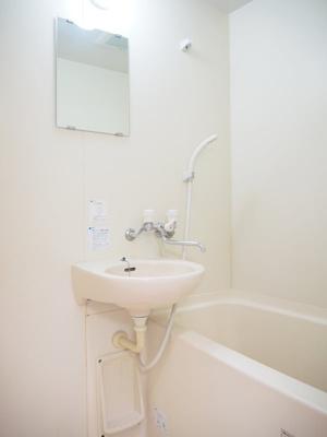 【浴室】ルーブル旗の台