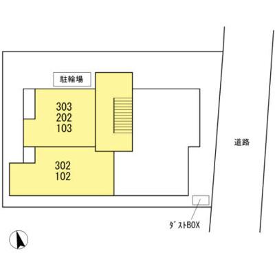 【区画図】Maison Jaune ~メゾンジョーヌ~