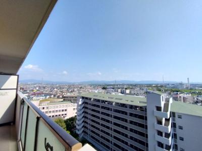 12階のお部屋ですので眺めが良いですね。