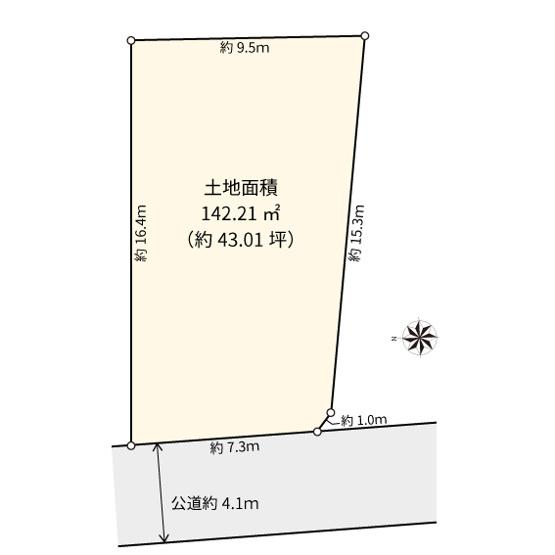 【土地図】世田谷区中町2丁目