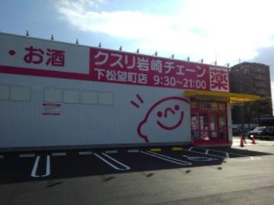 クスリ岩崎チェーン下松望町店まで500m