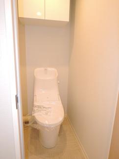 リフォームによりトイレも交換済