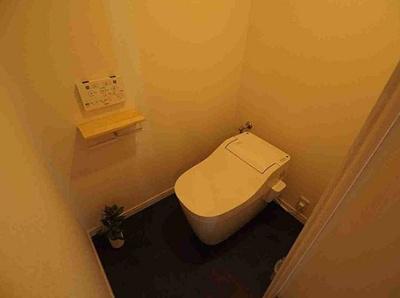 ユニライフ三ノ輪のトイレです。