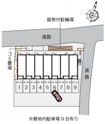 【駐車場】クレイノMIZUSHIMA