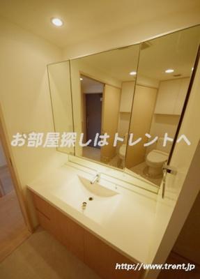 【洗面所】マチュリティ小石川