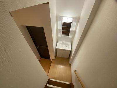 ■1階の独立洗面台です♪♪