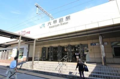 JR六甲道駅改札まですぐです。
