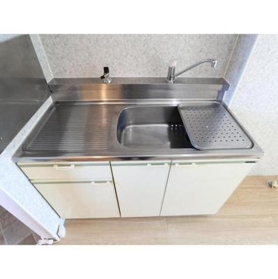 【キッチン】セジュールS・なかむら B棟
