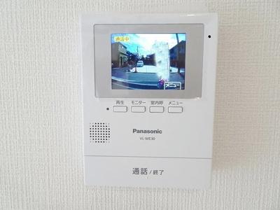 安心なTVモニタ付インターホン