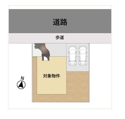 【区画図】小郡市寺福童字内牟田