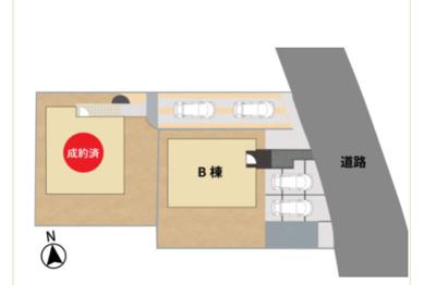 【区画図】三養基郡基山町大字宮浦字実松