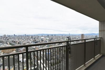 【バルコニー】クロスタワー大阪ベイ