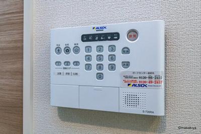 【セキュリティ】仮)D-room鶴賀 B