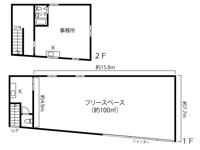 横浜市旭区桐が作 作業所・事務所・倉庫の画像