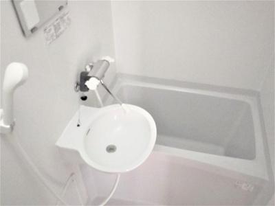 【浴室】レオパレスサンライズ