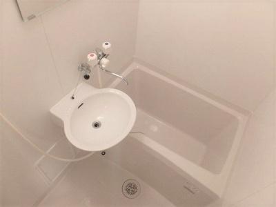 【浴室】レオパレス西船ガーデンコート