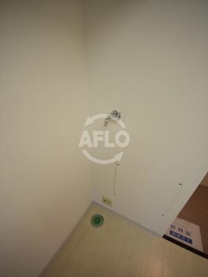 エクセル難波 室内洗濯機置き場