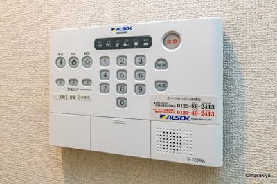 【セキュリティ】仮)D-room鶴賀 A