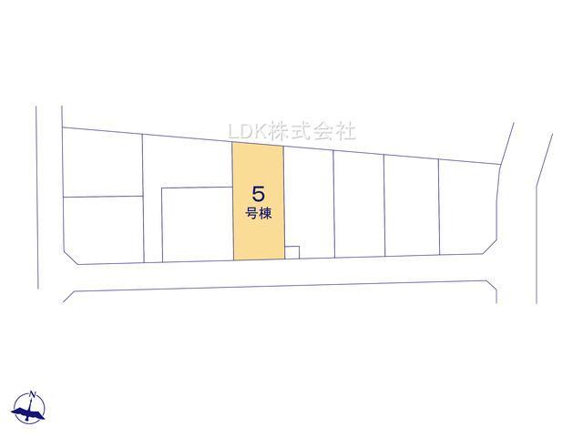 【区画図】新築戸建/富士見市針ケ谷2丁目(全10棟)