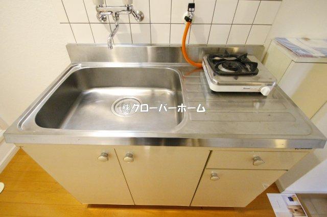 【キッチン】ロッシェル二番館