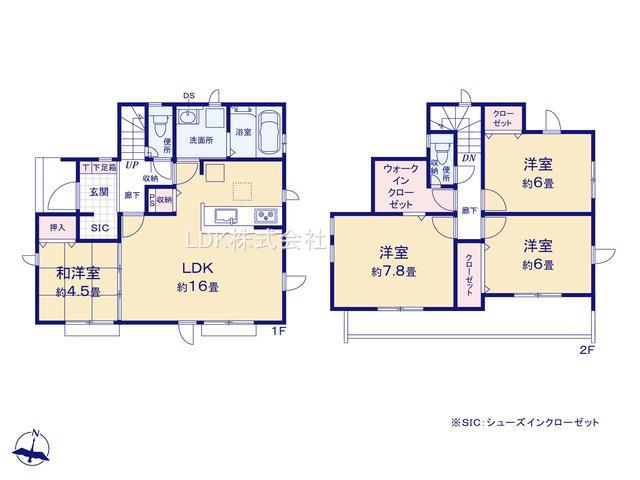 新築戸建/富士見市針ケ谷2丁目(全10棟)