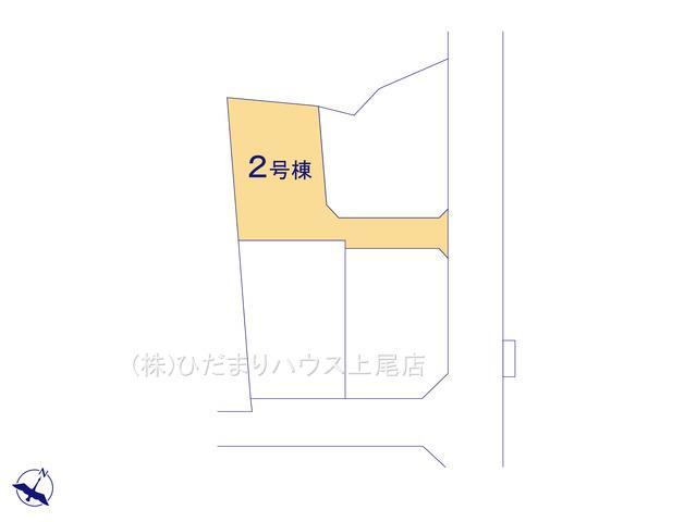 【区画図】上尾市大谷本郷 新築一戸建て 02